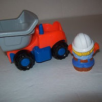 Fisher Price Little People Dump Truck and Worker-We Got Character