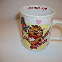 Garfield Coffee Cup I Love You Because You Have Style-We Got Character