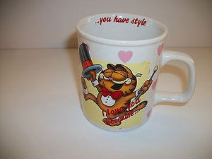 Garfield Coffee Cup I Love You Because You Have Style - Simply Garfield