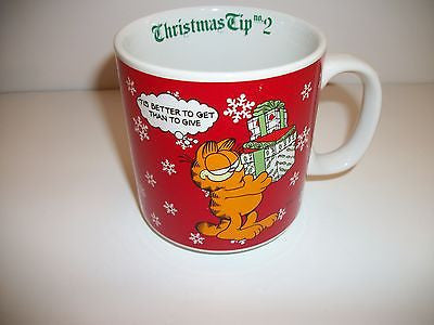 Garfield Coffee Cup Christmas Tip 2-We Got Character
