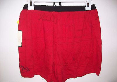 bda3ae159d51 Mens Red Peanuts Snoopy Boxers Shorts Valentines | We Got Character