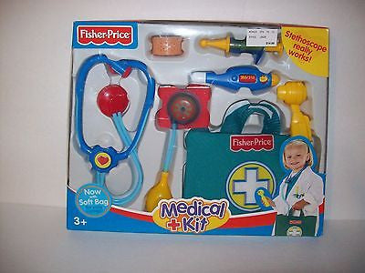 Fisher-Price Medical Kit Kids Pretend & Play Game Toy Doctor Nurse Set New - We Got Character