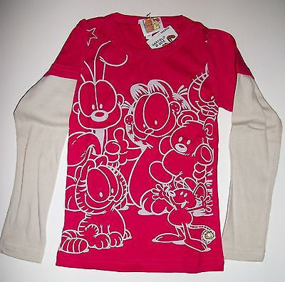 Garfield & Friends Long Sleeve Shirt Youth-We Got Character