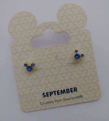 Disney Stud Earrings September - We Got Character