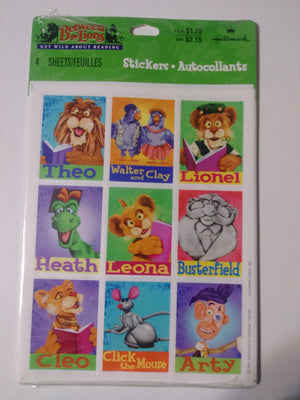 Between The Lions Sticker Pack - We Got Character