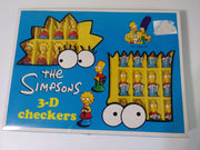 The Simpsons 3-D Checkers-We Got Character
