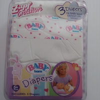 Baby Born Doll Diapers-We Got Character