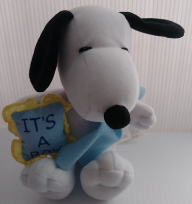 Snoopy It's A Boy Plush-We Got Character