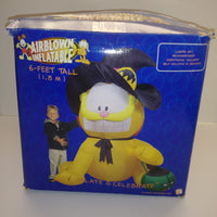 Gemmy 6' Garfield Halloween Witch Airblown Inflatable-We Got Character