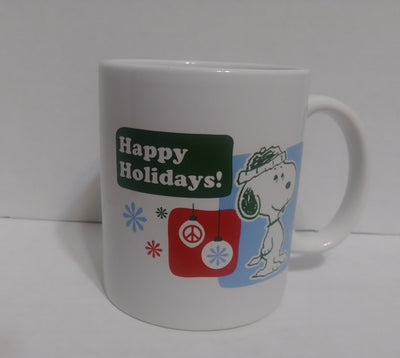 Snoopy Peanuts Happy Holidays Cup-We Got Character