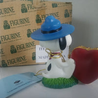 Peanuts Snoppy Scout Picture Frame Figurine