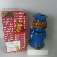 Garfield Enesco Figurine I Made It Now What Bank