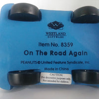 Westland Peanuts On The Road Again Figurine
