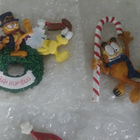 Elby 6 Garfield Christmas Magnets