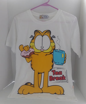 Garfield T-Shirt Tea Break-We Got Character
