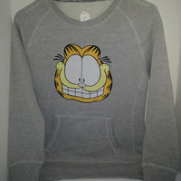 Youth Large Gray Garfield Sweatshirt-We Got Character