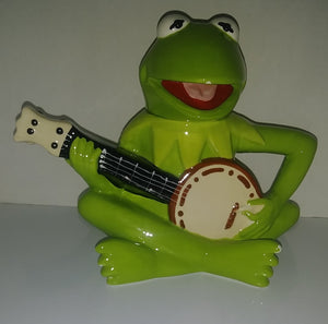 Disney The Muppets Kermit the Frog Banjo Ceramic Teapot