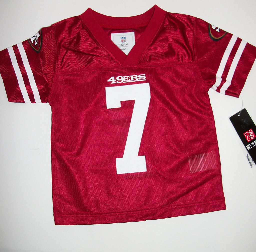 New San Francisco 49ers NFL Jersey #7 Kaepernick - We Got Character