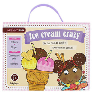 Ice Cream Crazy Game-We Got Character