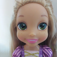 "Disney Princess Glow N Style Rapunzel 14"" Doll-We Got Character"