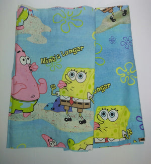 Lot of 2 SpongeBob Curtain Valances-We Got Character