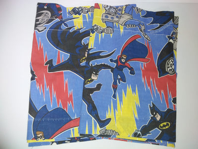 Batman and Robin curtain valances - We Got Character