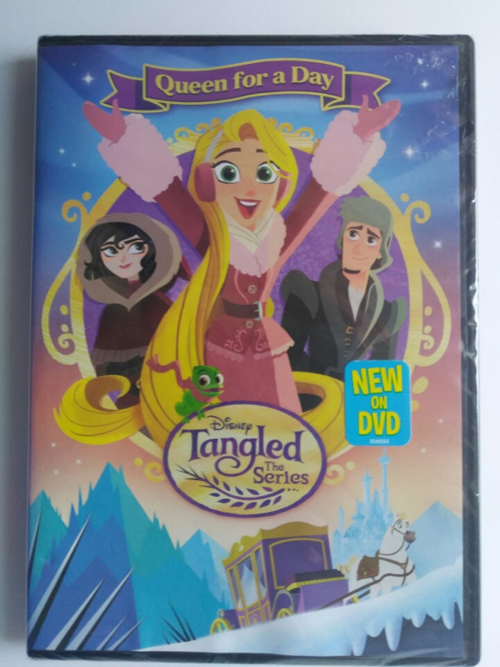 Disney Tangled The Series Queen For A Day DVD-We Got Character