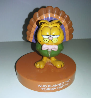 Garfield Enesco Thanksgiving Figurine - We Got Character