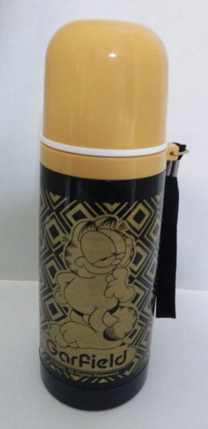 Black & Gold Garfield Thermos-We Got Character