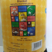 M&M's World Throw Blanket-We Got Character