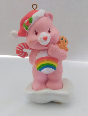 Cheer Bear Christmas Ornament American Greetings 2005 Care Bears Rainbow - We Got Character