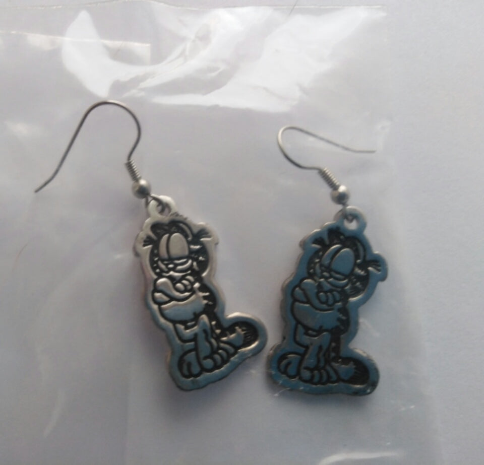 Garfield Dangle/Drop Earrings-We Got Character