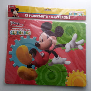 Disney Junior Mickey Mouse Clube House Paper Placemats-We Got Character
