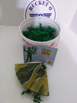 Disney Bucket Of Soldier's With COA-We Got Character