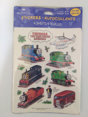 Thomas The Tank Engine Stickers-We Got Character