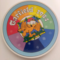 Garfield Christmas Plate 1984-We Got Character