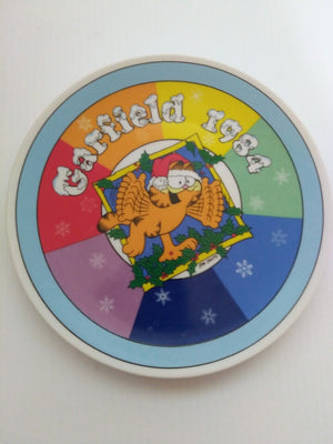 Garfield Christmas Plate 1984 - We Got Character