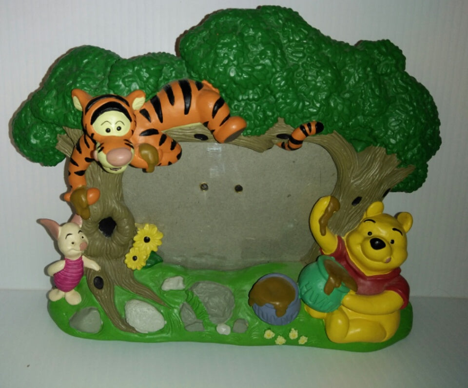 Disney Winnie the Pooh & Friends Picture Frame-We Got Character