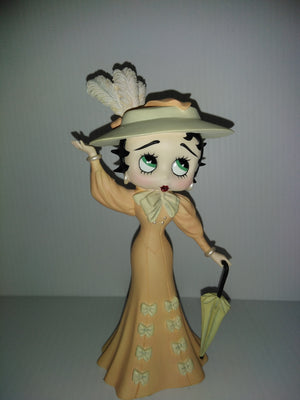 Danbury Mint Victorian Betty Boop Figurine-We Got Character