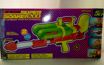 1990 Larami Super Soaker 200 Water Gun - We Got Character