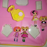 Mini Lalaloopsy Carry Case Playhouse with Extras-We Got Character