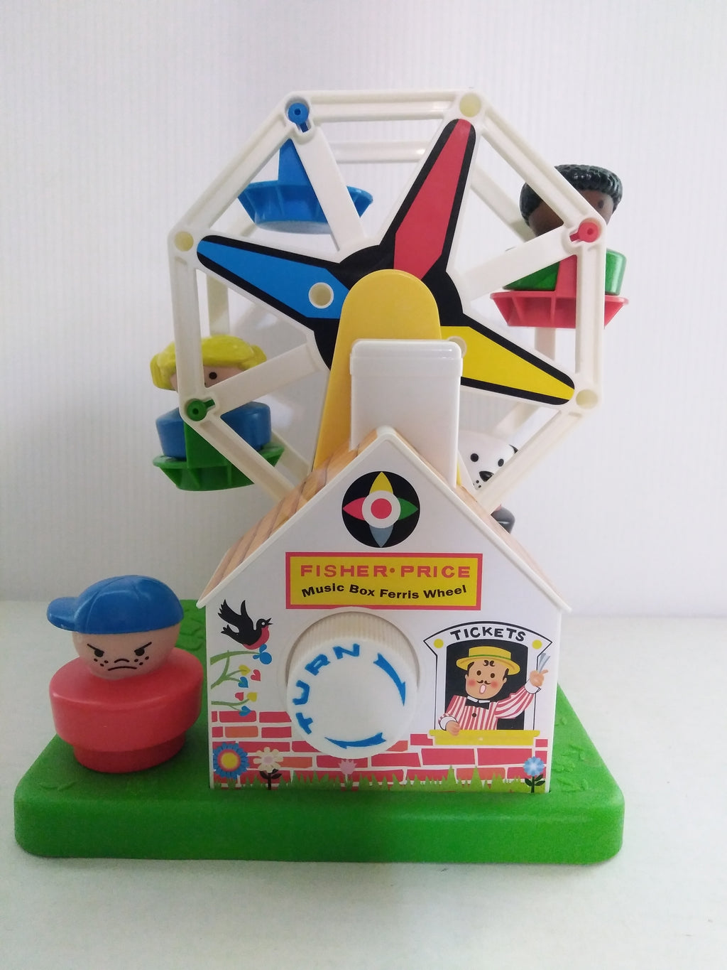 2015 Fisher Price Music Box Ferris Wheel-We Got Character