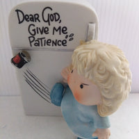Dear God Give Me Patience Figurine-We Got Character