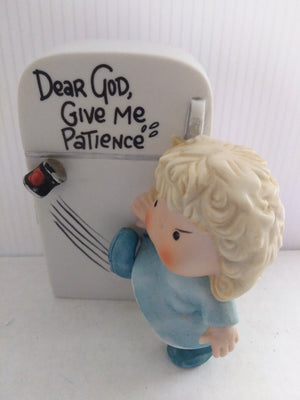 Dear God Give Me Patience Figurine - We Got Character