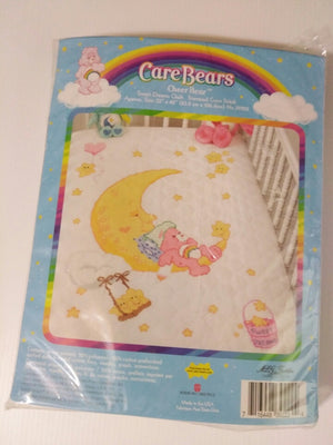 Care Bears Cheer Bear Cross Stitch Quilt Kit Sweet Dreams - We Got Character