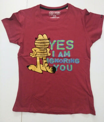 Yes I Am Ignoring You Garfield Shirt