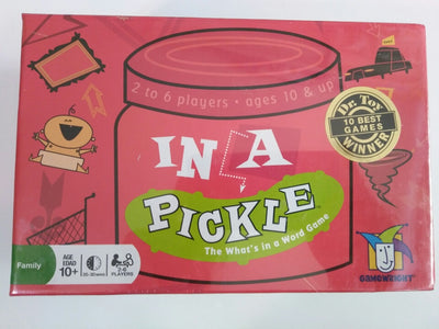 In A Pickle That's What in a Word Game-We Got Character