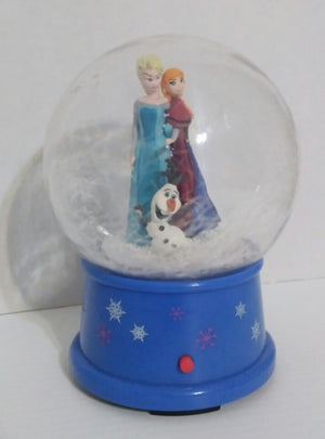 Frozen Musical Snow Globe-We Got Character
