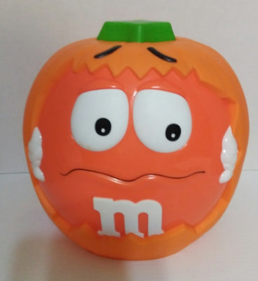 M&M's Orange Halloween Candy Dish - We Got Character