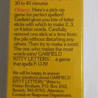 Garfield Kitty Letters-We Got Character